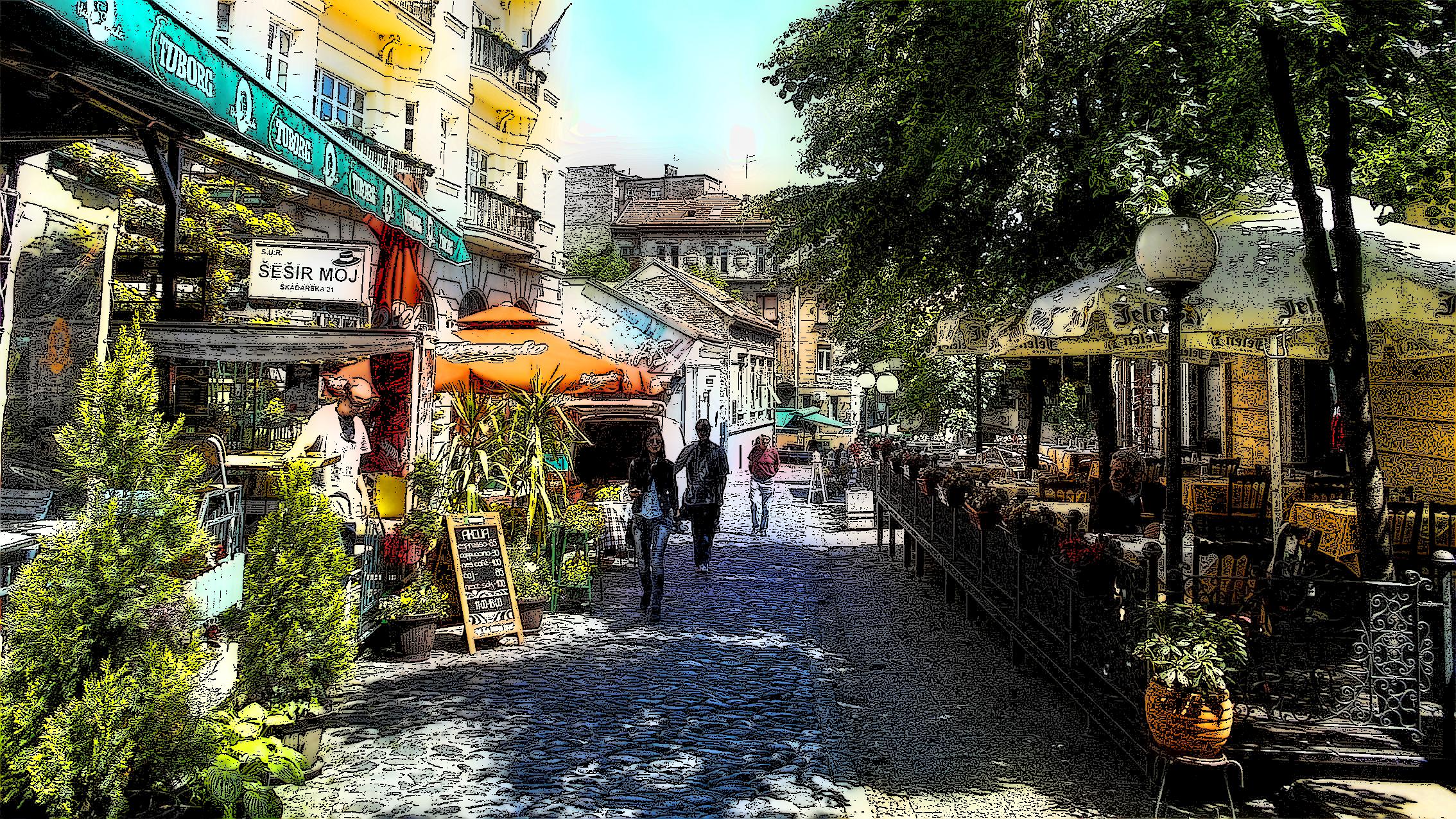 Скадарска  улица од 500 корака